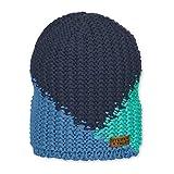 Sterntaler - Jungen Strickmütze mit Microfleece-Einsatz Marineblau blau - 4721908, Größe 53