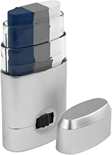 Artistry Closet ART-10003 Face Paint, Navy Blue Silver White