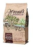 Texas Pecan Ground Coffee, Pecan Flavored Coffee Ground, 1 Pound (lb)/16 ounces (oz), Medium Roast, Fresh Roasted, Rich, Smooth - Texas Honey Heritage Campfire Pecan - Mozart's Coffee Roasters