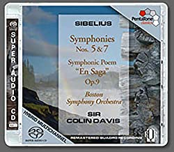 Symphonies 5 & 7 / Symphonic Poem en Saga Op.9
