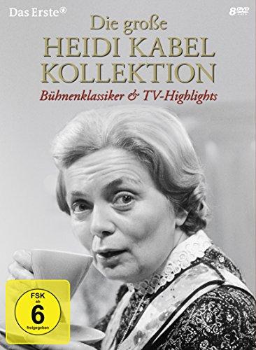 Die große Heidi Kabel Kollektion - Bühnenklassiker & TV-Highlights [8 DVDs]