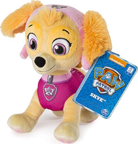 "Paw Patrol – 8"" Skye Plush Toy, Standing Plush with Stitched Detailing, for Ages 3 & Up"