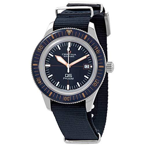 Reloj Cerina DS PH200M C036.407.18.040.00 con Correa de Tela Azul