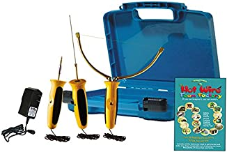Hot Wire Foam Factory Crafters Deluxe 3-in-1 Sculpting Tool, 3 Inch Hot Knife & Engraving Tool Kit