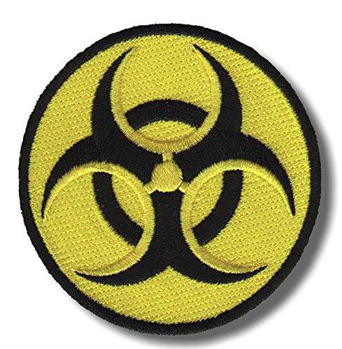 Biohazard - bordado parche 8 x 8 cm