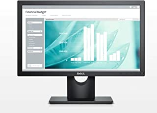 Dell 18.5 inch LED Monitor - E1916H, black