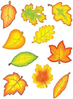 Teacher Created Resources Fall Leaves Accents Packs (4419)