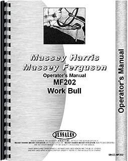 Massey Ferguson 202 Tractor Operators Manual (Work Bull)