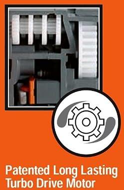 GARDENA 1975 Aquazoom 3900-Square Foot Oscillating Sprinkler with Fully Adjustable Width Control