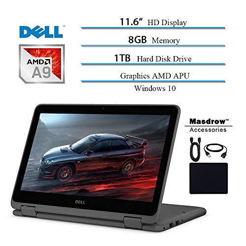 Dell Inspiron 11.6 inch Touchscreen 360 Convertible 2 in 1...