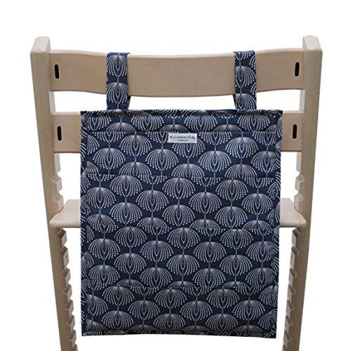 Blausberg Baby - Utensilo pour Stokke Tripp Trapp chaise haute - Fountain bleu