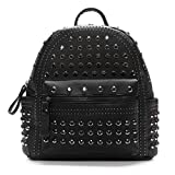 Kawaii Studded Backpack Purse Rhinestone Backpack Purse Concealed Carry Purse Mall Goth Gothic Gifts for Women Black