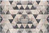 Carta Da Parati 3D Retro Parete Geometrica Del Fondo Della Tv Del Modello Carta Da Parati Moderna Fotomurale Muro Poster Murales Da Parete 300x210cm