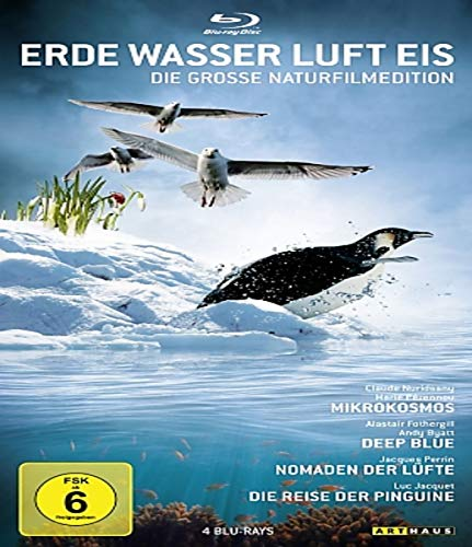 Erde, Wasser, Luft, Eis - Die grosse Naturfilmedition [Blu-ray]