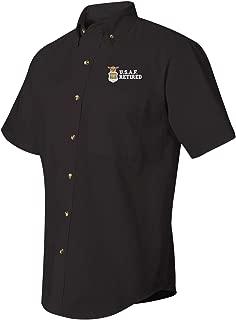 U.S.A.F Retired Short Sleeve Dress Shirt