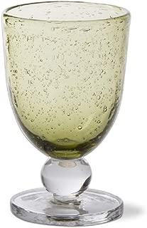 TAG Foliage Bubble Goblet Glass, 1 EA (G09033)