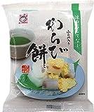 ヤマク わらび餅 小豆入り きな粉付き 袋105g