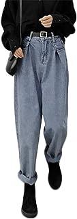 [トーダー] ジーンズ レディース デニム ロング丈 ストレッチ ジーンズ ストレート 通学 カジュアル 秋冬 ハイウェスト ズボン 大きいサイズ