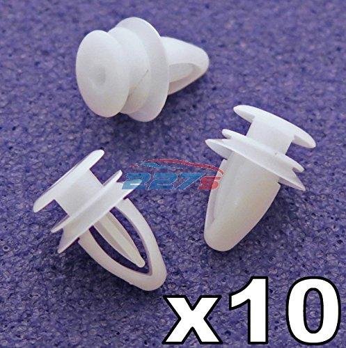 10x / Türspiegel 90560163 Befestigung Clips