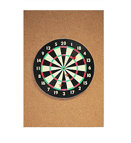 Cork Dart Board Backer 36x2x1 Inches