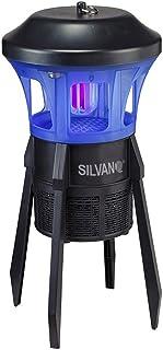Rocket Trap - Antimosquitos eléctrico con lámpara UV y aspiración para uso interior y exterior, resistente al agua, sin productos químicos, exterminador antimoscas, trampa destructora