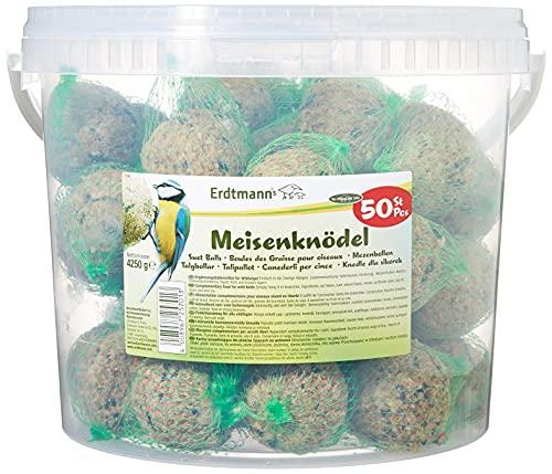 Erdtmanns 50 Meisenknödel im Eimer, 1er Pack (1 x 4.25 kg)