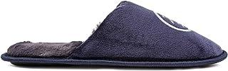PENGUIN Mens Cozy Pantofole Blu