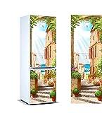 Oedim Vinilo para Frigorífico Italia 200 x 70 cm | Adhesivo Resistente y de Fácil Aplicación | Pegatina Adhesiva Decorativa de Diseño Elegante