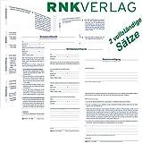 RNK Patientenverfügung 220x162mm mit Betreuungsverfügung/Vorsorgevollmacht (2 Sätze)