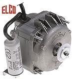 ELCO Motor de ventilador R18-25/010 para Cookmax 230/240 V, 18 W, 2600 rpm, 50/60 Hz, altura 110 mm, 3 opciones de fijación, ancho 90 mm