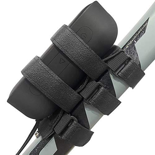 NNGT Soporte para bicicleta, soporte para altavoz de bicicleta, correa ajustable, resistente...