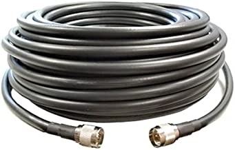 Cellphone-Mate CM400 Black 50 Ft Ultra-Low-Loss 400 Coaxial Coax Cable CM001-50