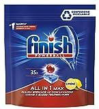 Finish Detergente per Lavastoviglie Powerball All in One Max, 35 Pastiglie,...