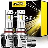 AUXITO 9005 LED Headlight Bulbs 12000LM Per Set 6500K Xenon White Mini Size