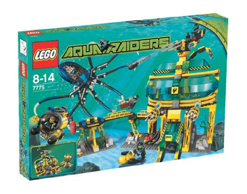 LEGO Aqua Raiders 7775 - Aqua-Basisstation