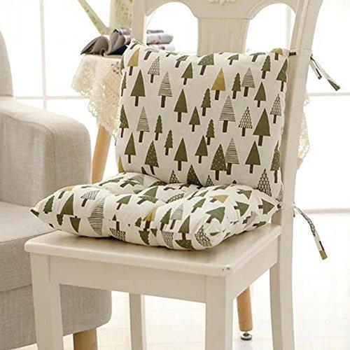 DADAO Coussins de sièges très Confortables & Doux Coussin de Fauteuil étudiant Chaise Coussins pour Les Meubles extérieurs Mousse à mémoire Ergonomique,Coussin de siège kit-E 40x80cm(16x31inch)