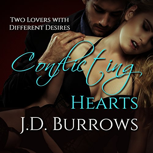 Conflicting Hearts audiobook cover art