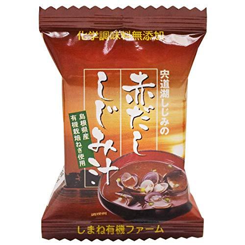 宍道湖 赤だし しじみ汁 Red miso soup with clams