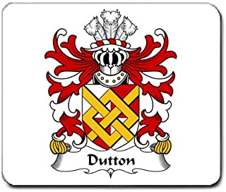 Dutton of Dutton of Cheshire Family Crest Coat of Arms Mouse Pad