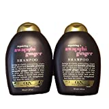 (OGX) Organix Shampoo Awapuhi Ginger 13oz (2 Pack)