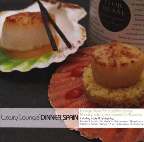 Luxury Lounge Dinner Spain CD & Recipe Cards by Various (2008-02-29)