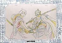 一番くじ ワンピース バトルメモリーズ E賞 メモリアル原画アート ルフィ太郎&ゾロ十郎