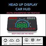 Head Up Display Car HUD Universal 5.8-inch Multicolour Screen