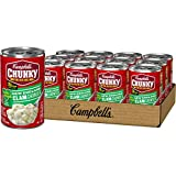Campbell's Chunky Healthy Request New England Clam Chowder, 18.8 Oz, Pack of 12