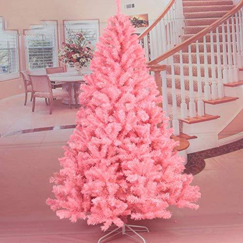 AISHANG Árbol de Navidad con bisagras Rosa Premium, 180 cm 6 pies,...
