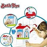 Happytime Ice Creams Bubble Bathtub Toy Bathroom Foam Cone Factory Making Ice Creams Bubble Machine Bathtub Water Toys for Baby (No Batteries Required)