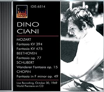 Ciani, Dino: Piano Works by Mozart, Beethoven, Schubert and Chopin (1969)