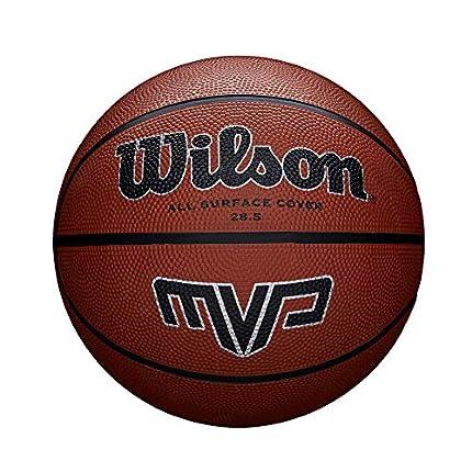 Wilson MVP Balón, Hombre, Naranja/Negro, 7