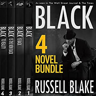 Black (4 Novel Bundle)                   By:                                                                                                                                 Russell Blake                               Narrated by:                                                                                                                                 R.C. Bray                      Length: 29 hrs and 19 mins     55 ratings     Overall 4.8