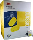 3M E-A-R Classic Earplugs 310-1001, Uncorded in Pillow Pack - MS92100 (1 Box)